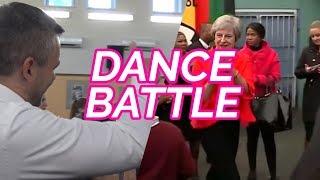 Dance battle: Pellegrini vs. Mayová