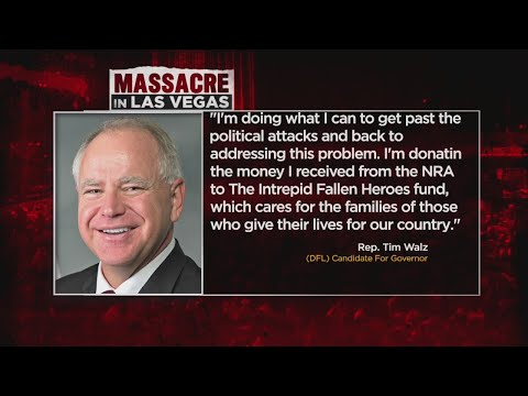 Rep. Walz: I'll Donate NRA Donations To Charity