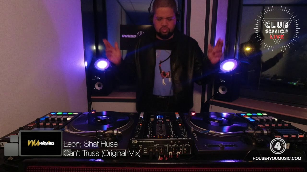 """WILMIG Live at Recording Studio """"House 4 You Music"""" - Club Session"""
