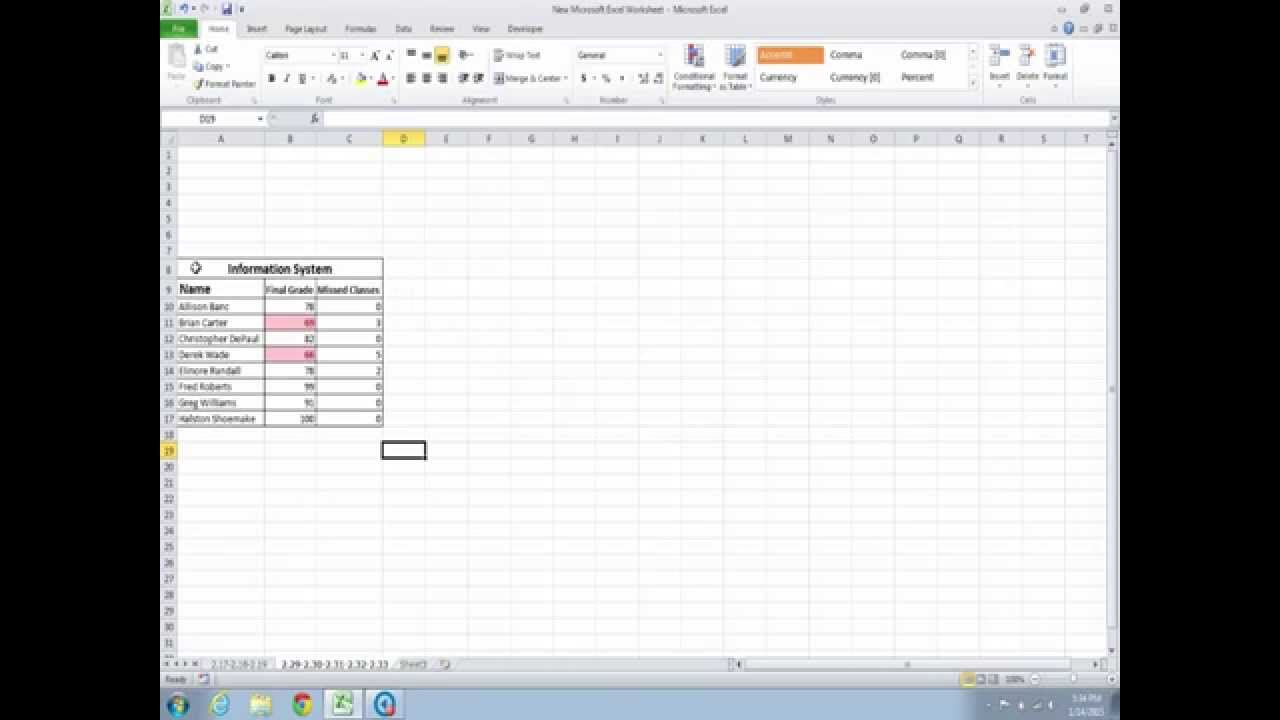 developing spreadsheet based decision support systems using excel and vb video fig 2 29 to 2 33