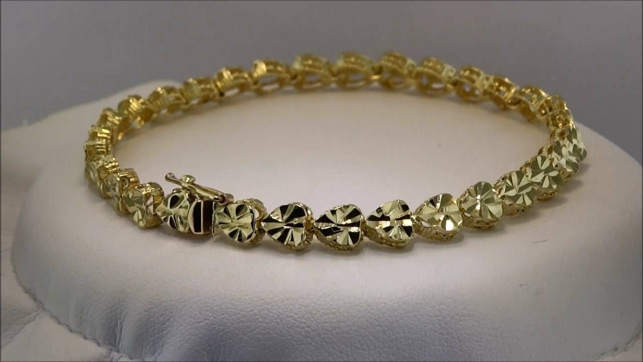 Women 22k Gold Bracelet Designs - YouTube