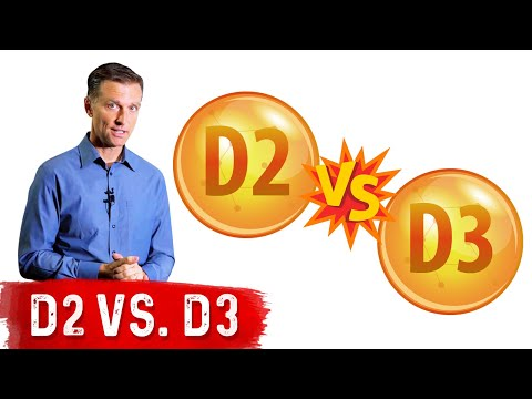 Vitamin D2 vs. D3: VERY DIFFERENT