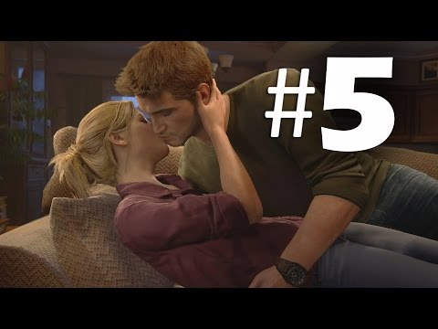 Uncharted 4 A Thief's End Part 5 - Chapter 4 - Gameplay Walkthrough PS4