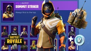 NEW SUMMIT STRIKER PACK IN FORTNITE BATTLE ROYALE