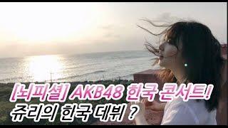 상상회로 가동중 AKB48 한국 콘서트 개최? 다카하시 쥬리 한국 데뷔 임...