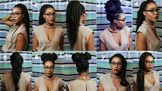 7 senegalese twists box braids hairstyles for the lazy easy romantic styles