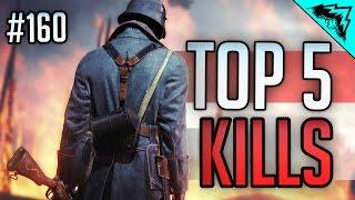 Battlefield 1 Top 5 Plays (Snipers, AT Rocket, Shotgun Kills) BF1 Early Access WBCW #160