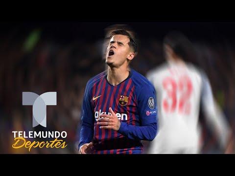 Leo Messi se harta y defiende a Philippe Coutinho   Telemundo Deportes