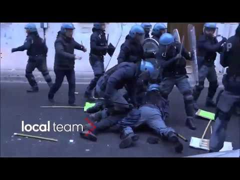 Italian Police Smash Antifa