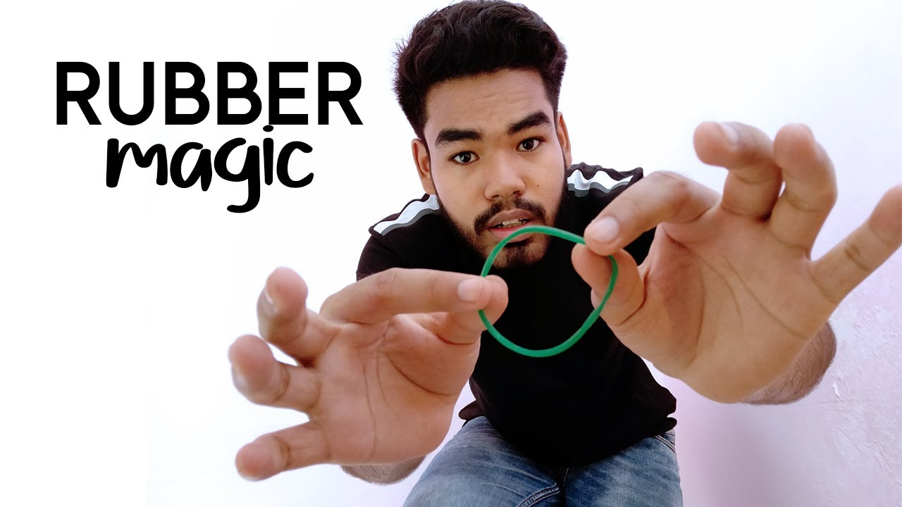 how to do rubber band tricks