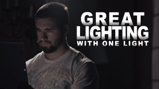 Great Cinematography with Only One Light! thumbnail