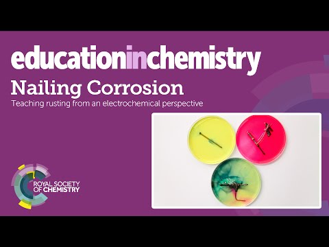 Nailing corrosion - teaching rusting from an electrochemical
