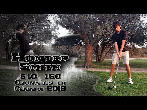 Hunter Smith  -  Golf Highlights   Ozona HS, TX  Class of 2018