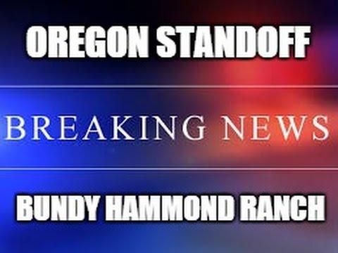 Oregon Bundy Hammond Rancher Standoff - Oregon National Wildlife Refuge