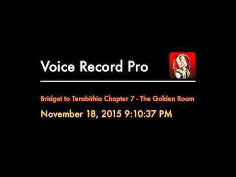 Bridge to Terabithia Chapter 7 - The Golden Room