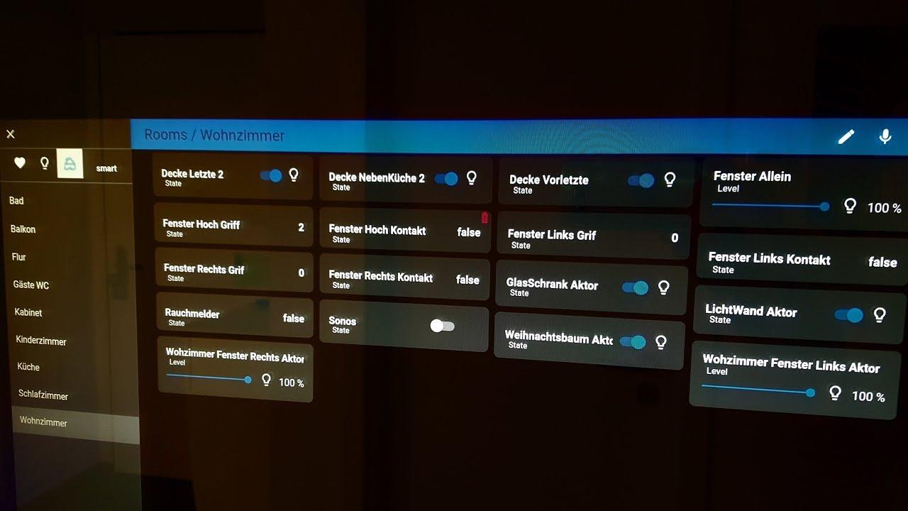 Tutorial 2: ioBroker Vis Visualisierung und Widgets