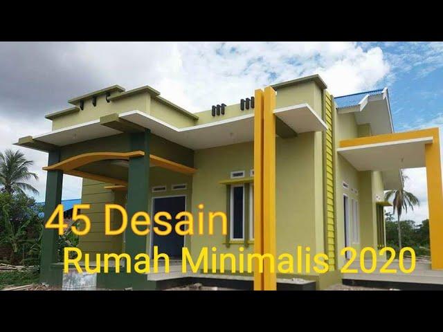 45 Desain Rumah Minimalis 2020 Youtube