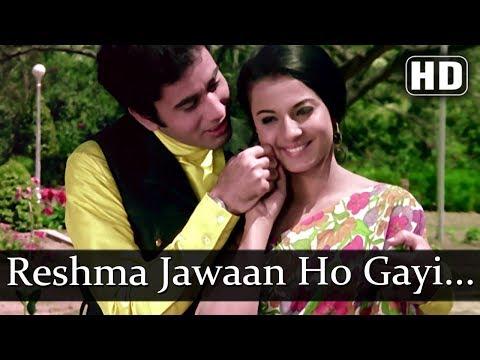 Reshma Jawan Ho Gayi (HD) - Mome Ki Gudiya Songs - Tanuja - Ratan Chopra - Old Hindi Songs