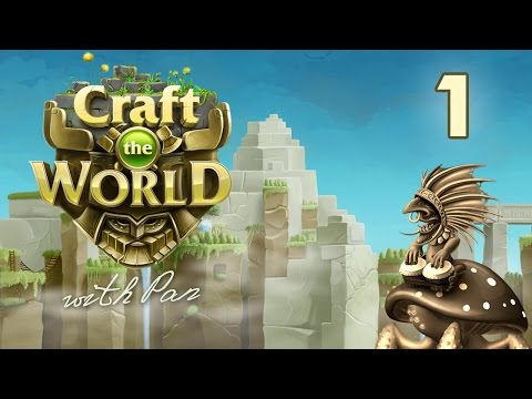 Craft The World with Pan #1 - Две башни