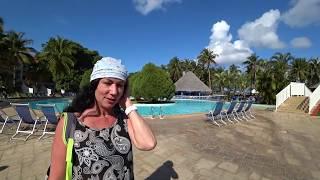 Brisas del Caribe Варадеро Куба МАРТ ОБЗОР ТЕРРИТОРИИ ОТЕЛЯ И ПЛЯЖ