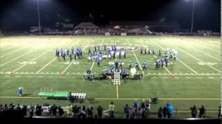 "2014 ""Spies Like Us"" - Central Connecticut State University Blue Devil Marching Band"