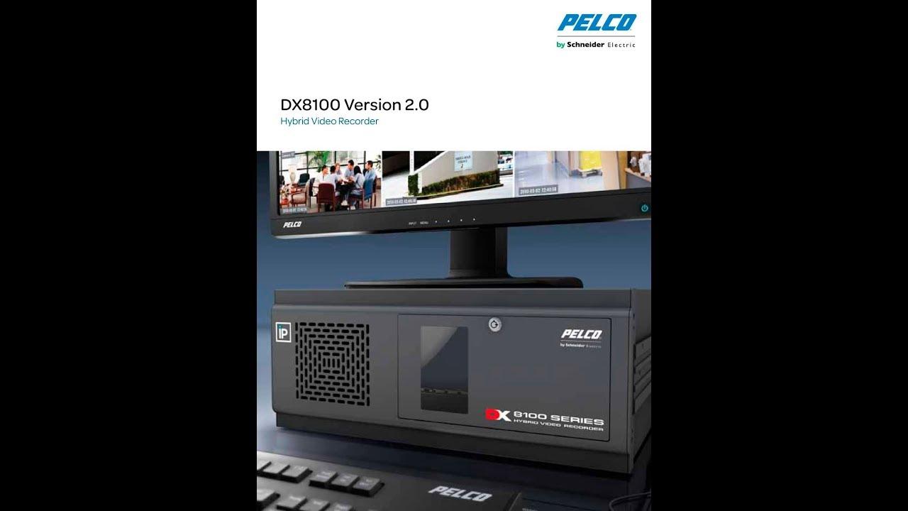 how to connect pelco dx8100 dvr for remote viewing youtube rh youtube com Pelco DVR Surveillance 1 pelco dvr dx8100 manual