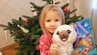 Новогодний подарок! Интерактивная кошечка FurReal Friends от компании Hasbro!! Распаковка