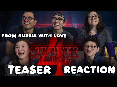 STRANGER THINGS 4 || FROM RUSSIA WITH LOVE || TEASER TRAILER REACTION || MAJELIV