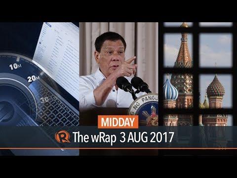 Duterte, Free public internet, Trump | Midday wRap