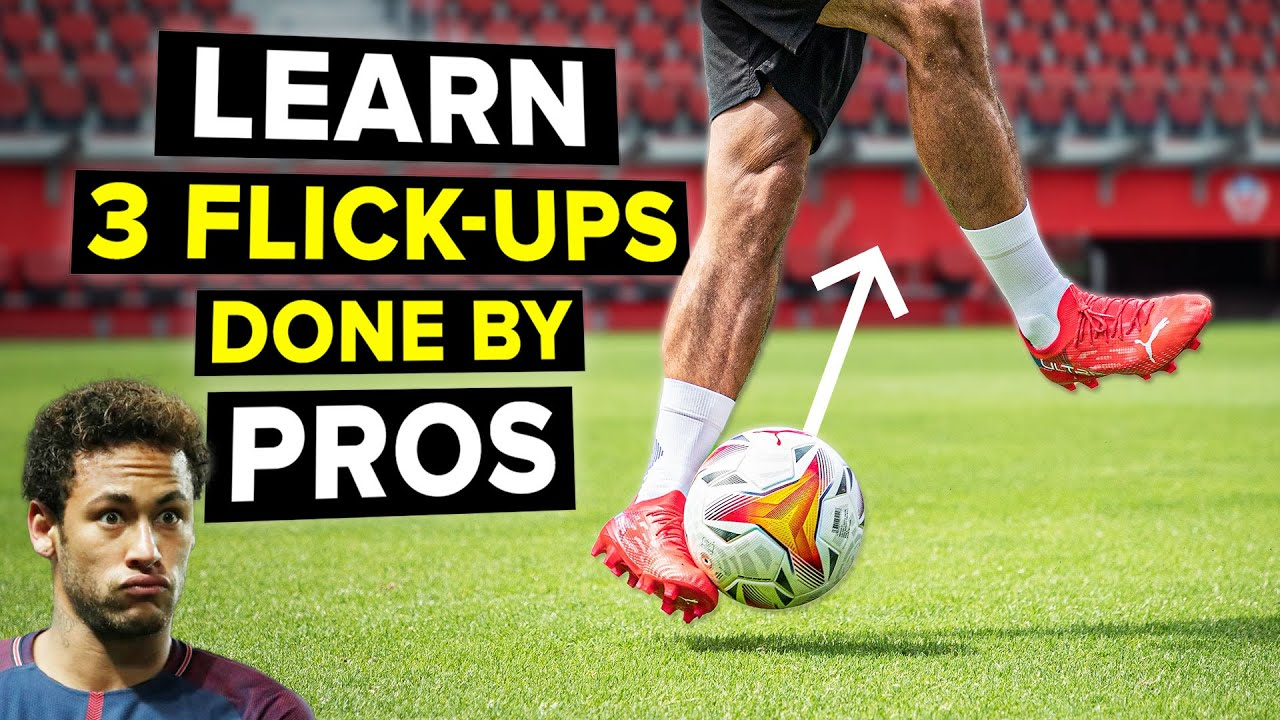 LEARN 3 flick-ups done by pros to impress your friends