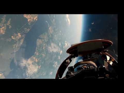 U2 Dragonlady by Lockheed Martin Flying and Landing