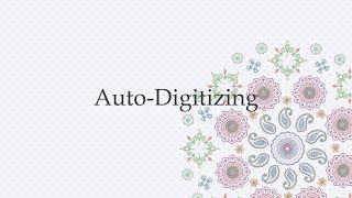 Auto-Digitizing