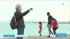 Déconfinement : réouverture des plages dans les Alpes-Maritimes