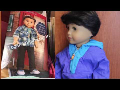 """Boy Doll Reacts To New AG Boy Doll """"Logan Everett"""""""