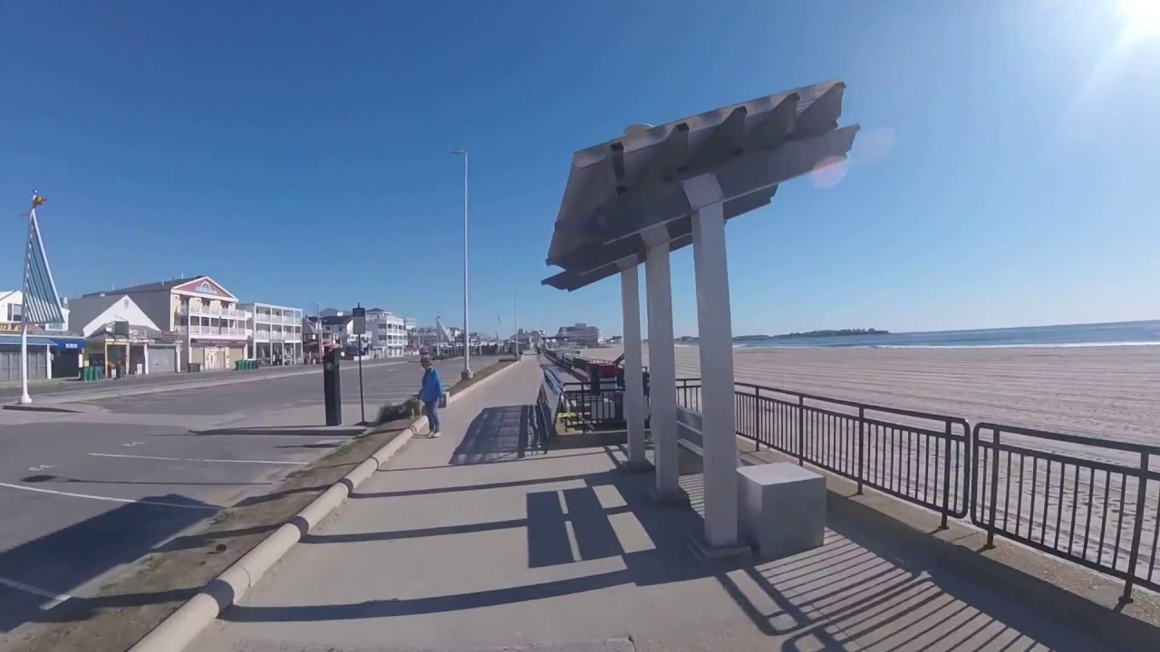 Hampton Beach Boardwalk Upgrades 2017 New Railings Have Arrived Hampshire
