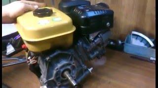 видео Топливная система двигателя Robin-Subaru EY20