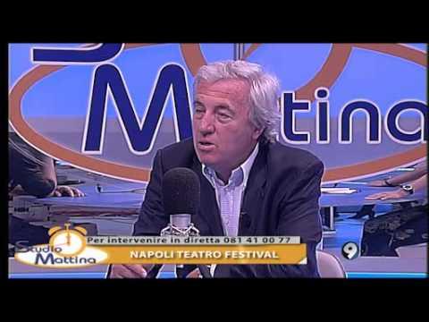 Napoli Teatro Festival - Luca De Fusco dir.artistico STUDIO MATTINA 16-6-2014