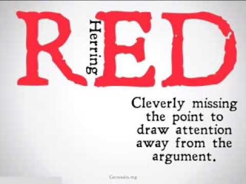 Red Herring Logical Fallacy  YouTube