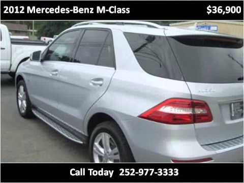 2012 mercedes benz m class used cars rocky mount nc youtube. Black Bedroom Furniture Sets. Home Design Ideas