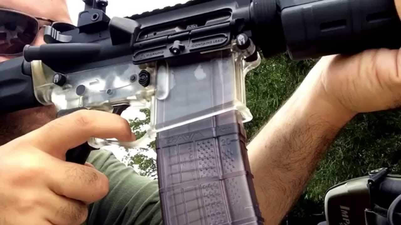 Tennessee Arms Clear Polymer Ar15 Lower With Adams Arms