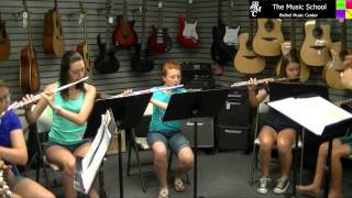 2014 Flute Choir plays Disney Flutey-Tootie
