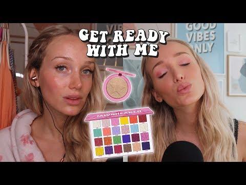 ASMR Jeffree Star Jawbreaker & Sephora Makeup Haul! Get Ready With Me thumbnail