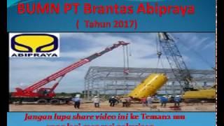 Lowongan Kerja BUMN PT Brantas Abipraya  2017