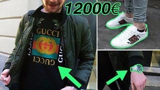 QUANTO COSTA IL TUO OUTFIT?? con Gucci e Rolex 12000€