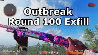 Outbreak Round 100 Exfill cold war zombies