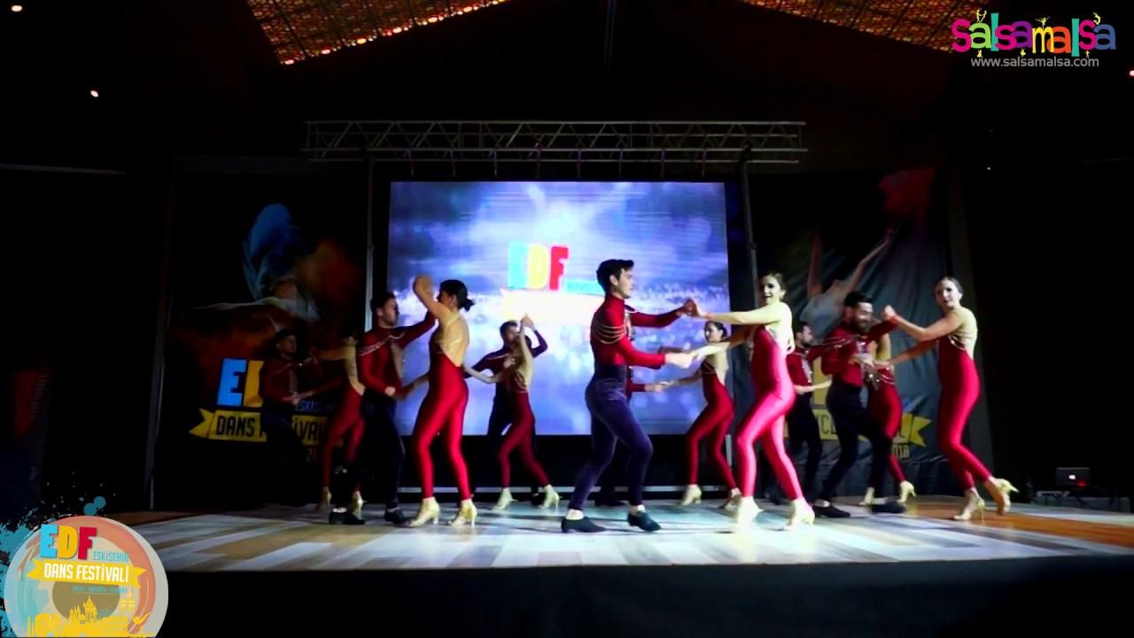 Los Eros Dance Team Show By Onur Alp Sancaktar Edf 2018