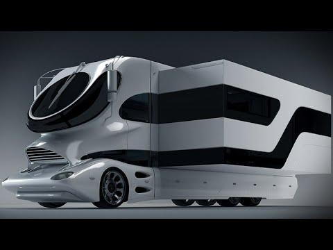 Future MotorHome - Transformer Homes - Truck Transform Into Home