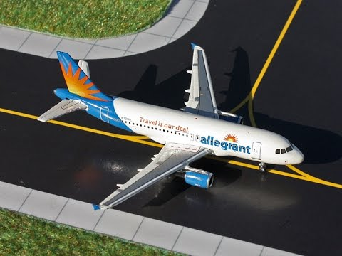 Allegiant Air Airbus A319 Gemini Jets Review Youtube