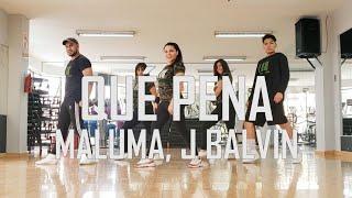 Qué Pena - Maluma, J Balvin - Flow Dance Fitness - Zumba