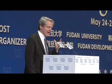 """[2014 Shanghai Forum] Robert Shiller """"The Role of Financial Innovation in Asian Transformation"""""""